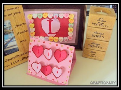 Valentine's Day Frame and Card (Kid's craft)
