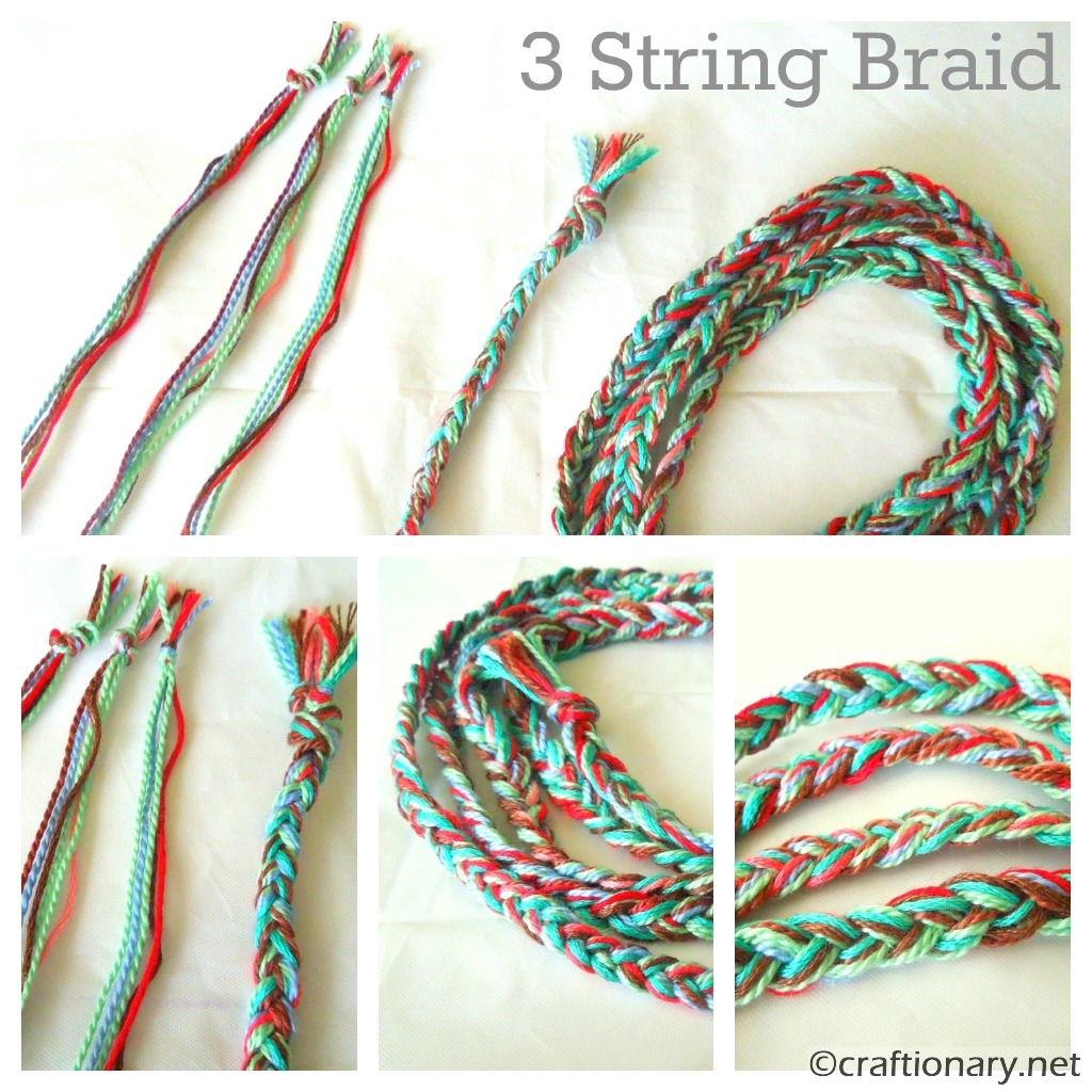Craftionary for How to weave a net with string