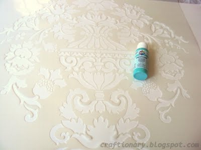 highly recommend using stencil adhesive spray my first stencil. Black Bedroom Furniture Sets. Home Design Ideas