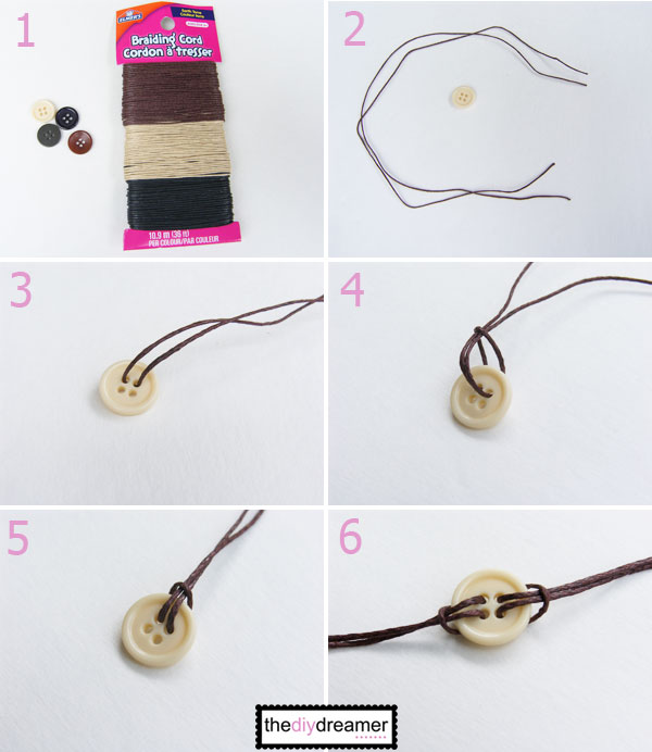 Step 7 Make A Knot At Both Ends 8 Cross Your Making It Look Like Bracelet Into Circle 9 Cut Piece Of Cord About 10