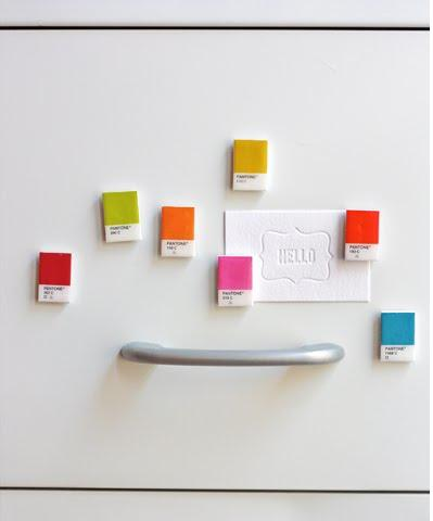 DIY paint chip crafts