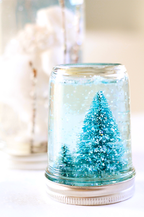 Image result for diy snow globe