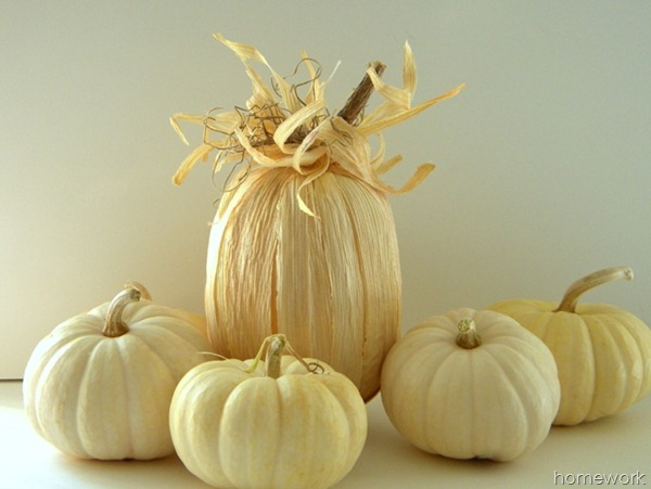 cornhusk pumpkin