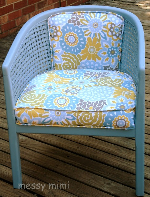 reupholster old chair