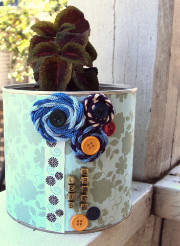 make-recycle-tin-can-into-planter