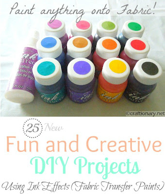 deco art fabric transfer paint diy projects