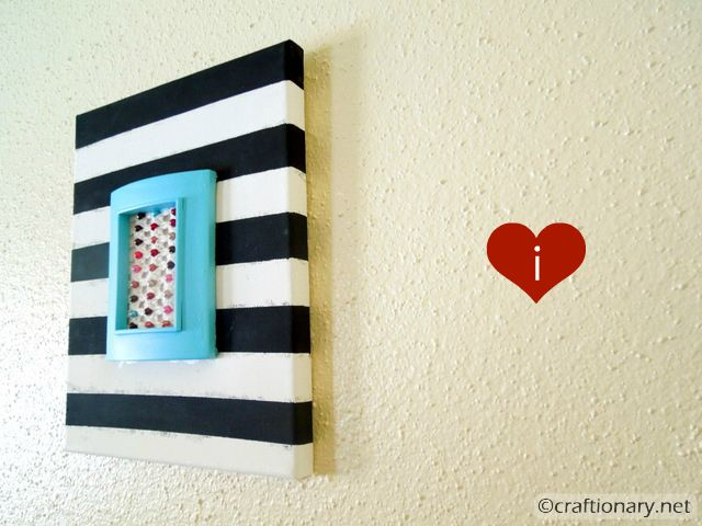 stripes wall art