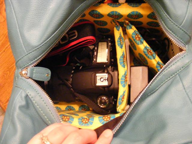 handmade camera bag