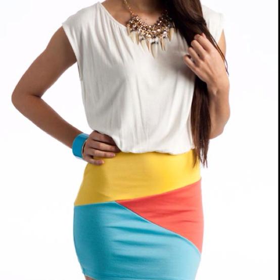 color blocking clothes