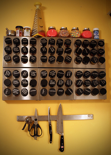 Ordinaire Stainless Steel Spice Rack. The New Modern Touch To Organizing.