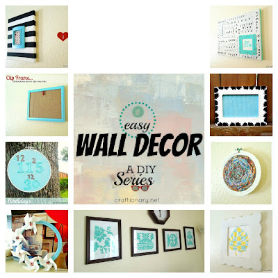 easy wall decor blog