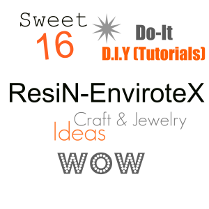 resin envirotex DIY