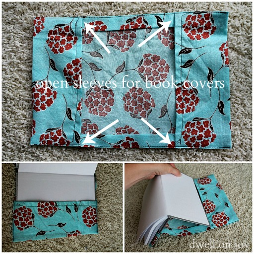 Book Cover Sewing Quarter ~ Craftionary