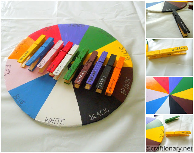 DIY Color wheel