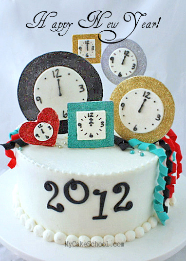 New Year S Day Cake : Craftionary