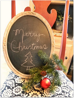 Make chalkboard crafts