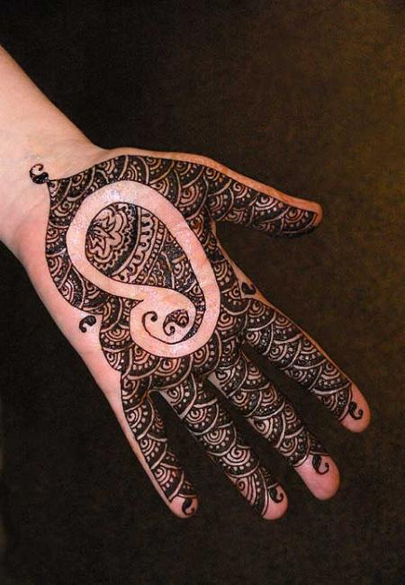 Simple Mehndi Patterns For Eid : Mehndi designs for kids easy hands to do and eid