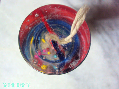 Make Easy Gel Wax Candle