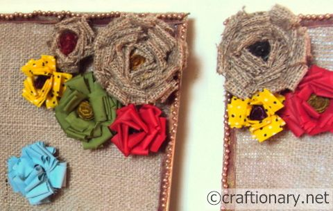 burlap frame craft 2