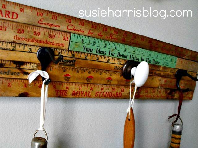 vintage ruler scale coat rack blog