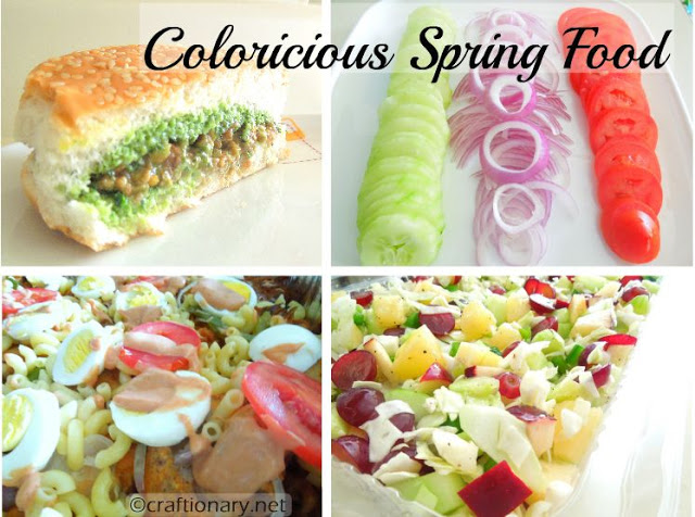 spring party recipes