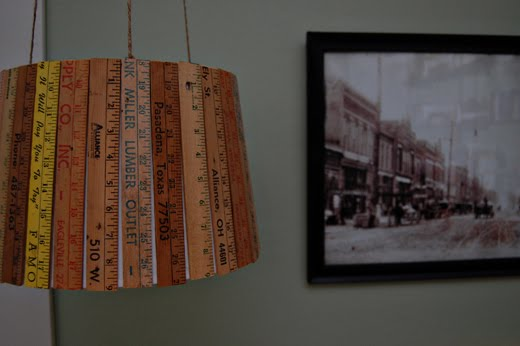 Diy Ruler Scale Lamp Blog Project