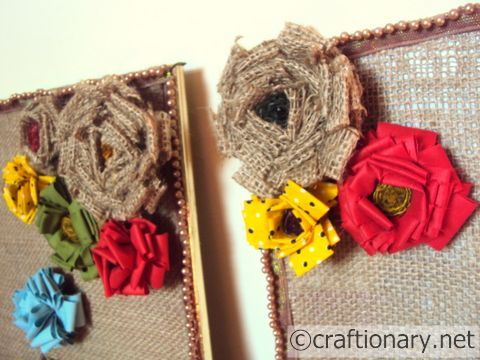 Burlap Home Wall Art Frames (Tutorial) - Craftionary