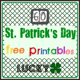 St Patricks day free printables