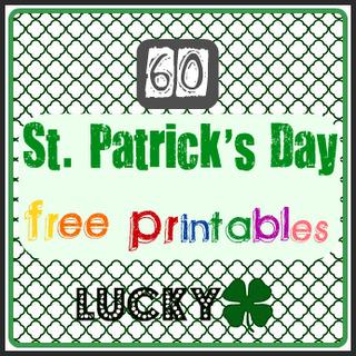 st patricks day free printables - St Patricks Day Printables