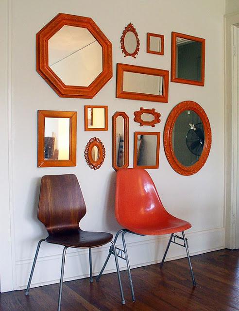 orange wall gallery
