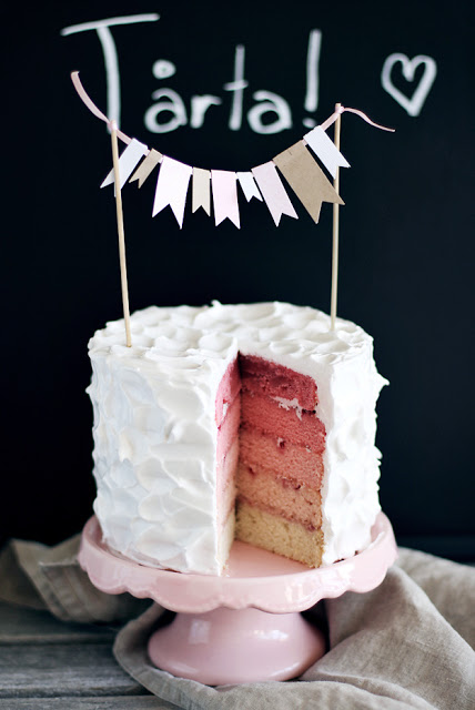 ombre cake idea