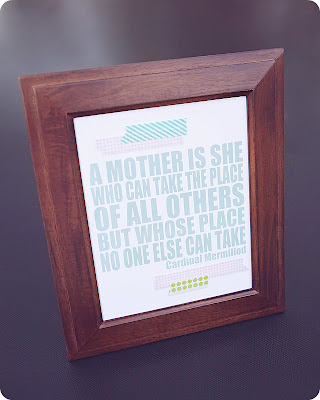 mothers day print