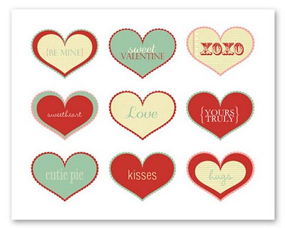 photograph relating to Printable Valentine Hearts titled Craftionary